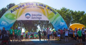 Kelowna's Interior Savings Across the Lake Swim